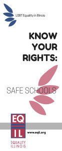 Safe Schools Brochure Cover