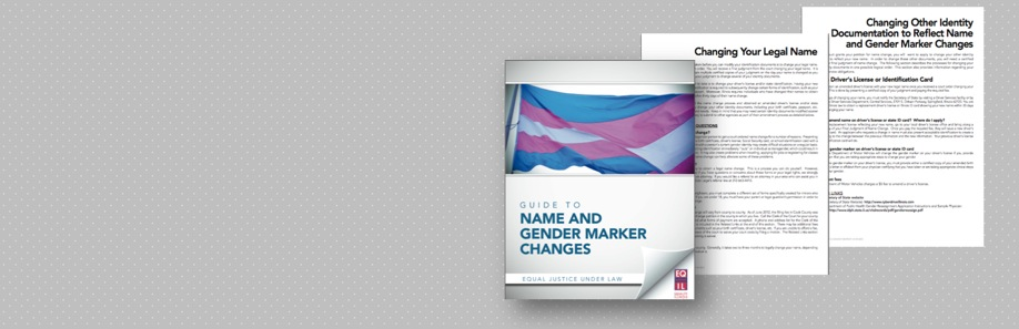 Gender change pamphlet