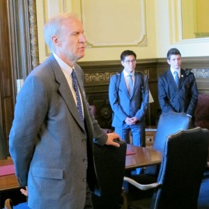 Rauner on lobbying day 2015