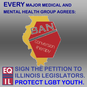 Conversion therapy petition meme
