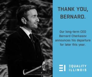 Bernard announcement - FB meme