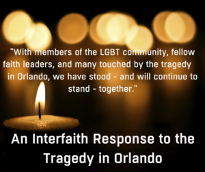 Interfaith Response to the Tragedy in Orlando