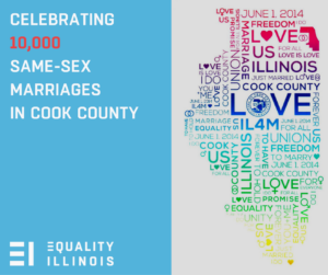 Celebrating 10,000 same-sex marriages in Cook County